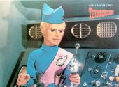 Thunderbirds - 'John Tracy aboard Thunderbird Five' Postcard
